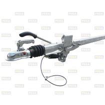 Oplooprem / Buis dissel / BPW 1350 kg 70-70-4 mm 2600 mm lang